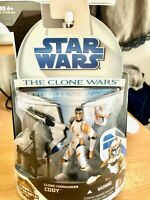Star Wars The Clone Wars  CLONE COMMANDER CODY  Action Figure No.10