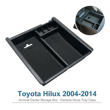 For Toyota Hilux 2004-2014 Console Glove Tray Case Armrest Center Storage Box