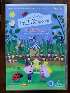 Ben and Holly Elf Games DVD Pre-School Children's TV