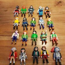 playmobil 20 ritter Figuren zu 3666 3445 3378 3444 3450 Ritter klicky selten rar