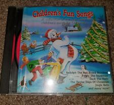 Children's Fun Songs (a Collection Of The Best Loved Children's Songs For..) CD