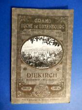Guides Cosyn Grand Duché de Luxembourg Diekirch Bourscheid - Mullerthal 1933