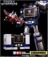 TAKARA TOMY Transformers MP - 13 sound waves and a bird laser mark