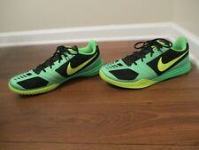 Lightly Used Worn Sz 14 Nike KB Kobe Mentality Low Shoes Black Volt Poison Green