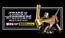 Takara Tomy Transformers Masterpiece 30th Anniversary Mp-05g Megatron Gold Ver