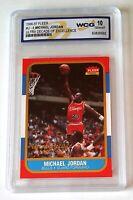 MICHAEL JORDAN 1996 FLEER #U-4 WCG 10 ULTRA DECADE OF EXCELLENCE GEM-MT (N)