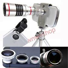 4in1 18X Zoom Telephoto+Macro+Wide+Fisheye Lens for Nokia Lumia 930 920 925 1020