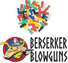 100 - .40 Cal Assorted Blowgun Stun Darts from Berserker Blowguns - Made in the