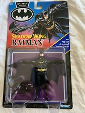 VINTAGE 1992 KENNER BATMAN RETURNS SERIES1,SHADOW WING BATMAN,NEW IN BLISTER