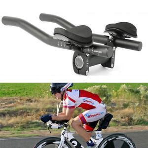 Bike Road Mountain Bicycle Alloy Triathlon Aero Rest Handle Bar Clip On BarSERI