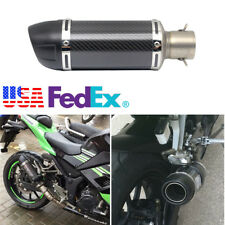Motorcycle Short Exhaust Muffler Silencer Slip On DB Killer 38mm-51mm US SHIPING