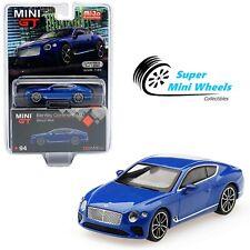 Mini Gt 1:64 Bentley Continental Gt Sequin Blue #94�In stock】
