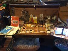 Antique Fly Fishing Kit