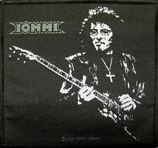 "BLACK SABBATH PATCH/ricamate # 27 ""Tony Iommi"""