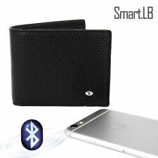 Smart Wallet, Leather, Anti Lost, Bluetooth, GPS, Tracker