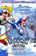 POKEMON HEROES Movie POSTER 11x17