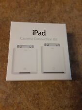 Genuine Apple 30-Pin iPad Camera Connection Kit NIB