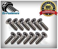 Machine Screws Flat Head Phillips Drive Stainless Steel 8-32 x 1/2