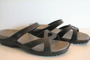 Crocs Meleen Twist Sandal Slip On Slides Women's 8