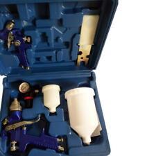 2 Pieces Hvlp Air Spray Gun Kit Automotive Spray Guns/Paint/Primer 0.8mm & 1.4mm