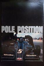 Pole Position F1 Gp Japanese Movie Program Pamphlet