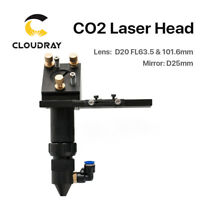 C Series CO2 Laser Head FL.63.5mm Focal Focus Lens Dia.20mm for Laser Cutting