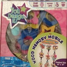 """Wood memory mobile You Design It New In Sealed Package Ages 6+ 10""""X15"""""""