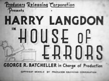 HOUSE OF ERRORS 1942 Harry Langdon, Charley Rogers