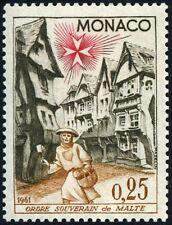 """MONACO STAMP TIMBRE  N° 552 """" ORDRE DE MALTE 25 C """" NEUF x TB"""