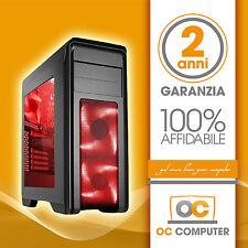 PC DESKTOP COMPUTER SEMI ASSEMBLATO INTEL QUAD CORE I5 4460/RAM 12GB/ FISSO