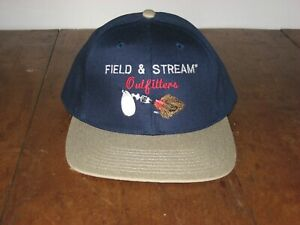 Field and Stream Outfitters Fishing Spinner Hat Cap