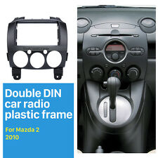 Double Din Car Radio Fascia Dash Panel Kit DVD Frame Adapter for 2010 Mazda 2