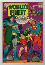 WORLD'S FINEST #173 - 1st S/AGE APP OF TWO-FACE AS BATMAN BECOMES TWO-FACE 1968