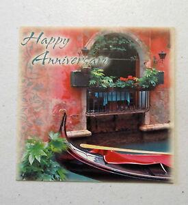 Leanin Tree Anniversary Greeting Card Multi Color Love Qubes Series Q43