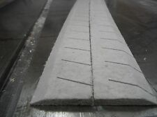Homasote Roadbed (Homabed), O scale, curvable, 30 degree shoulder, 24ft