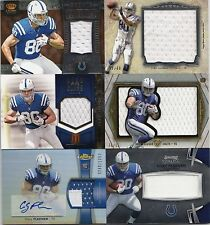 44ct Coby Fleener 2012 Football Rookie Card RC Lot - Auto, Jersey, & Serial #