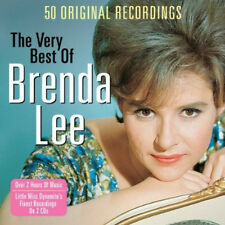 Brenda Lee VERY BEST OF 50 Songs ESSENTIAL EARLY RECORDINGS New Sealed 2 CD