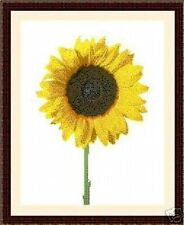 Sunflower 01, Cross Stitch Kit