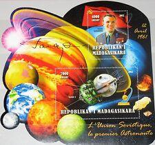 MADAGASKAR MADAGASCAR 2012 unlisted 1 Russian in Space Yuri Gagarin Vostok MNH