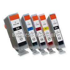 5 New Ink Cartridges For Canon CLI8 PGI5 Pixma MP830