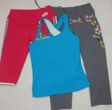 EUC BABALU Athletic Top /Pants/Capri Running Yoga One Size XS-M 0-6 Lot of 3