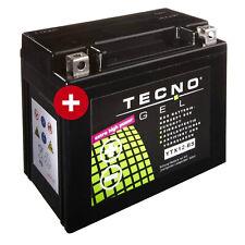 GEL-Batterie YTX12-BS für Piaggio X10 350 i.e. Baujahr 2012-2015 von Tecno