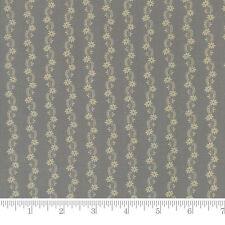 Moda Fabrics Reflections Floral Stripe Aqua Green