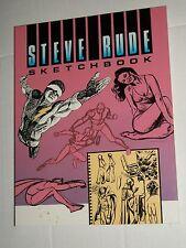 Kitchen Sink Press STEVE RUDE SKETCHBOOK SC Softcover