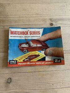 Matchbox Series 1962 International Pocket Catalogue.