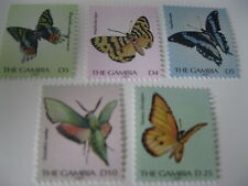 Gambia-Butterflies-2003 MNH