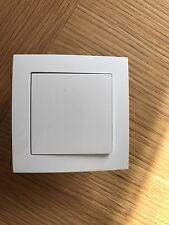 Light Switch, Domestic Modern 10amp 1gang 1 Way