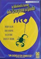 WOODY ALLEN - LA MALEDIZIONE DELLO SCORPIONE DI GIADA (2001) - DVD EX NOLEGGIO