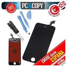 Pantalla LCD RETINA +Tactil completa para iPhone 5C NEGRO ORIGINA + herramientas
