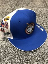 Size 8 NWT NEGRO LEAGUE BASEBALL MUSEUM ALL TEAM LOGOS FITTED MENS CAP HAT NEW